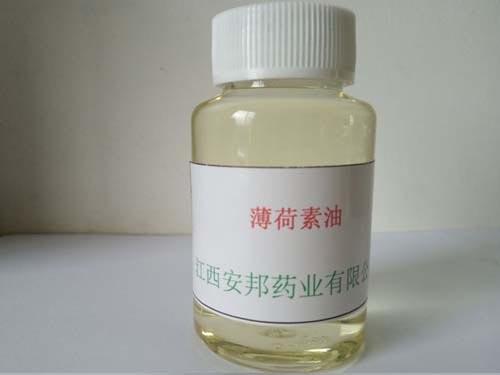 薄荷油的主要功能功效: